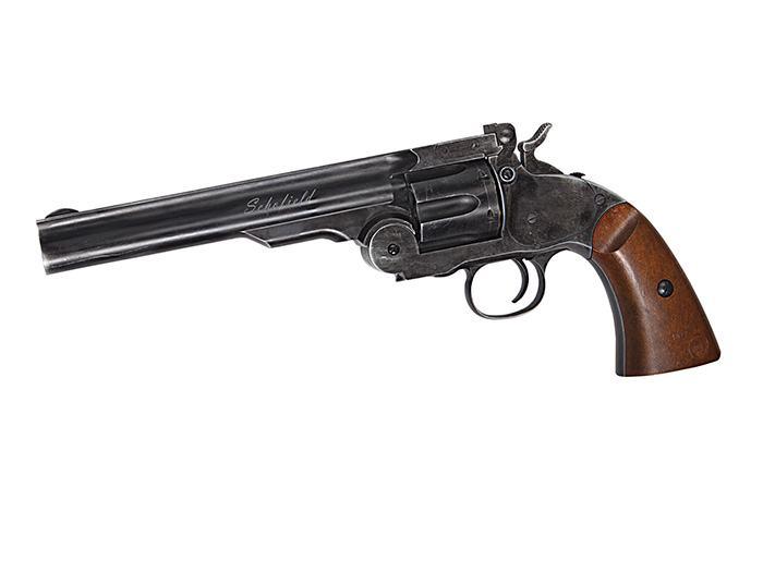 """ASG Schofield 6"""" CO2 zračni revolver (4.5mm/0.177) - BB/DIABOLO ostare"""