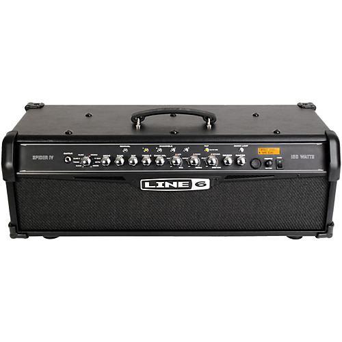 Line 6 Spider IV HD150 150W Guitar Amp Head + FBV Express Mk II