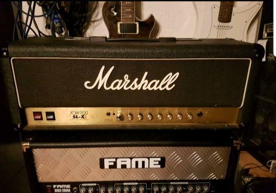 Marshall 900 slx 100w lampaš SLX model!!