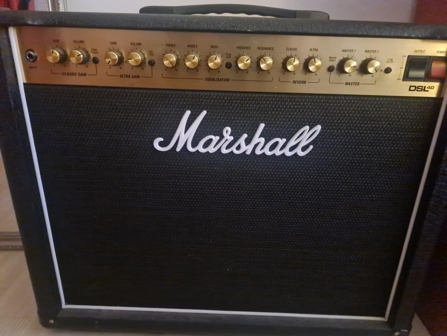 Marshall DSL40CR gitarsko pojačalo