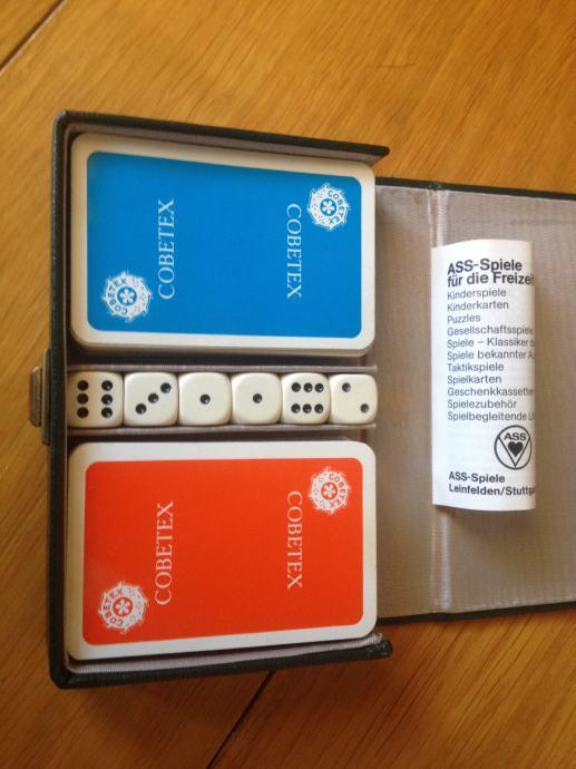 Karte za bridge, canastu, dupli špil, kvalitetne igraće karte, kocke