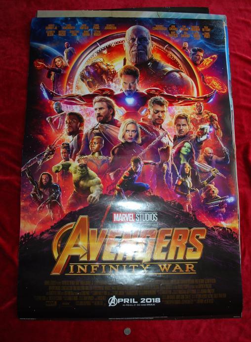 Filmski Plakat Avengers Infinity War Osvetnici Rat