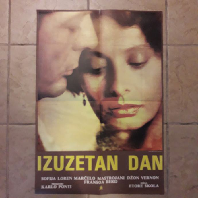 IZUZETAN DAN - FILMSKI PLAKAT BR. 638