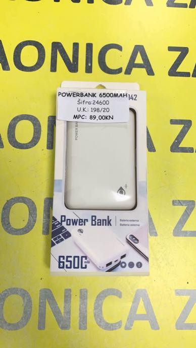 Powerbank 6500mah