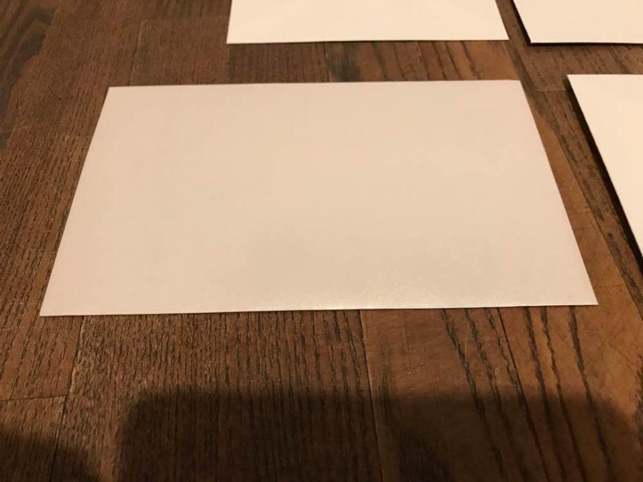 Kuverte za pozivnice/ zahvalnice