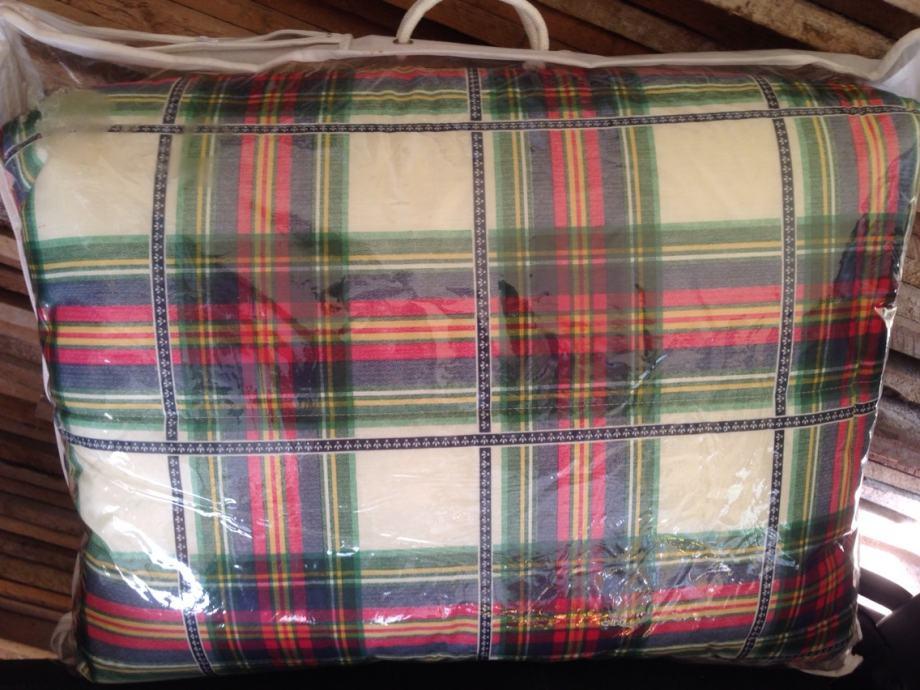 Poplon poplun prekrivač za bračni krevet novi