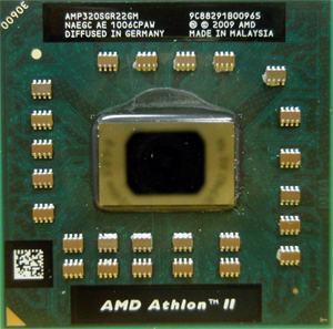 AMD Athlon II Dual-Core Mobile P320 Socket S1 (S1g4)  laptop procesor