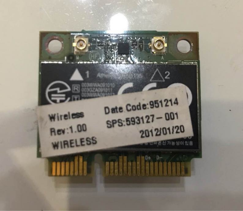 Hp ProBook 4535s wifi