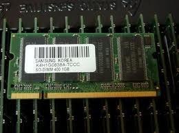Prodajem 2x 1GB DDR1 400MHz memoriju za laptop!