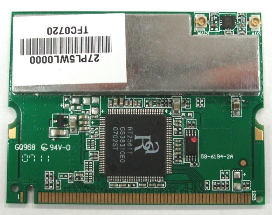 REALTEK mini PCI wireless kartica RT2561T