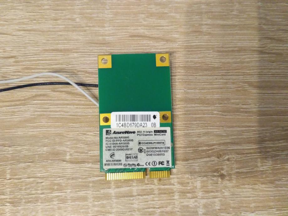 WIFI kartica za laptop AzureWave AR5B95
