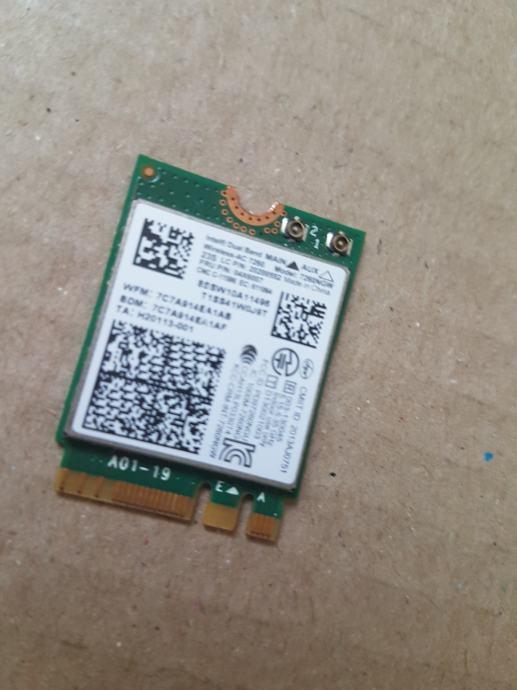 wifi kartica Lenovo X240S X240 T440P T440 T440S L440 L540 T540P W540