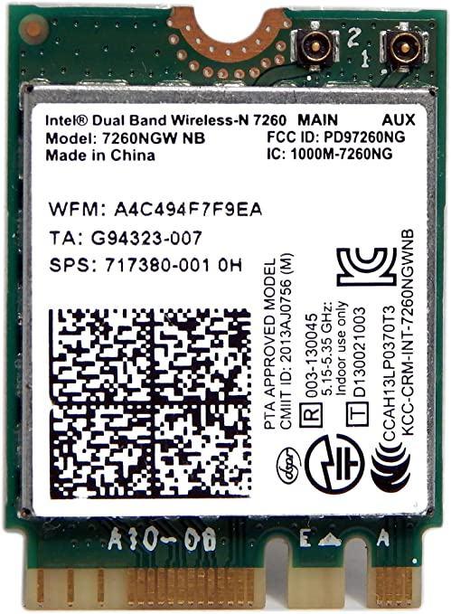 WIFI Wireless-N 7260NGW BN