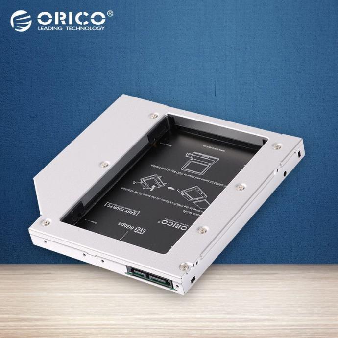 """Orico ladica za drugi 2.5"""" HDD/SSD, SATA3, umjesto optičke jedinice"""