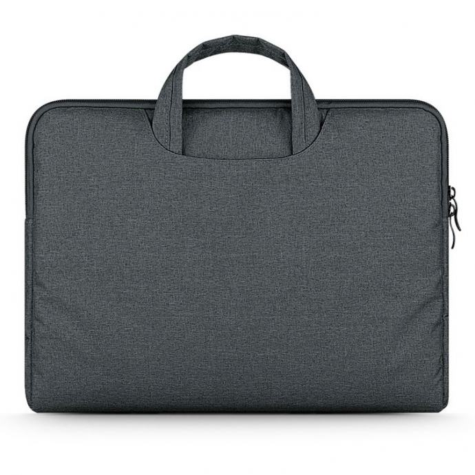 TECH-PROTECT BRIEFCASE torbica za LAPTOP 13-14 (DARK GREY)