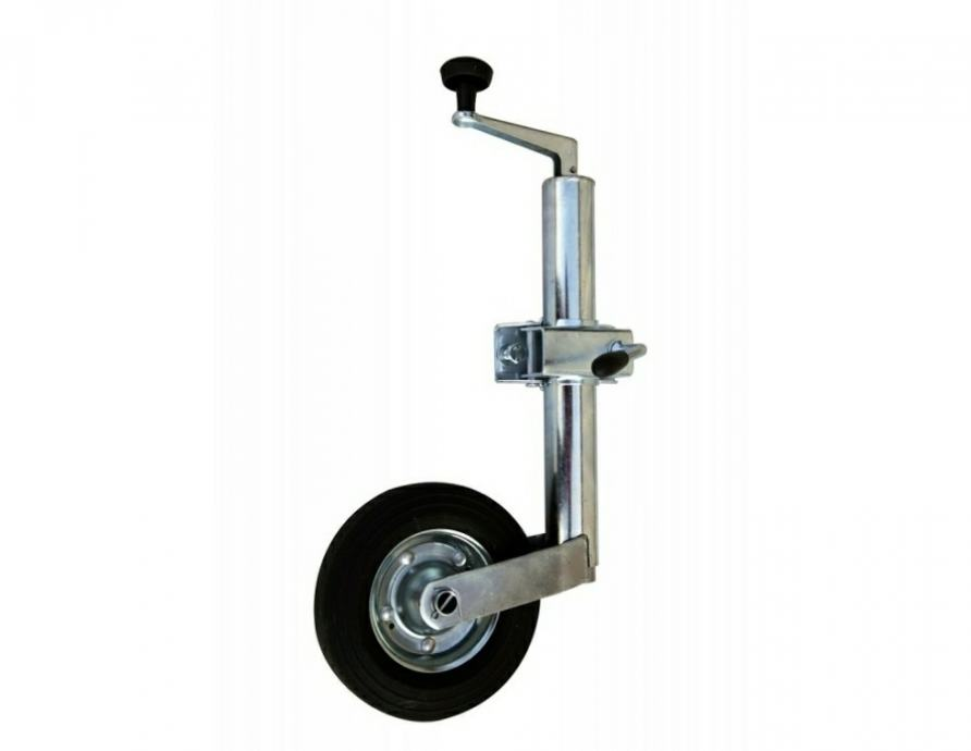 Raiden prikolice, pomoćni kotač s obujmicom ,48 mm,nosač