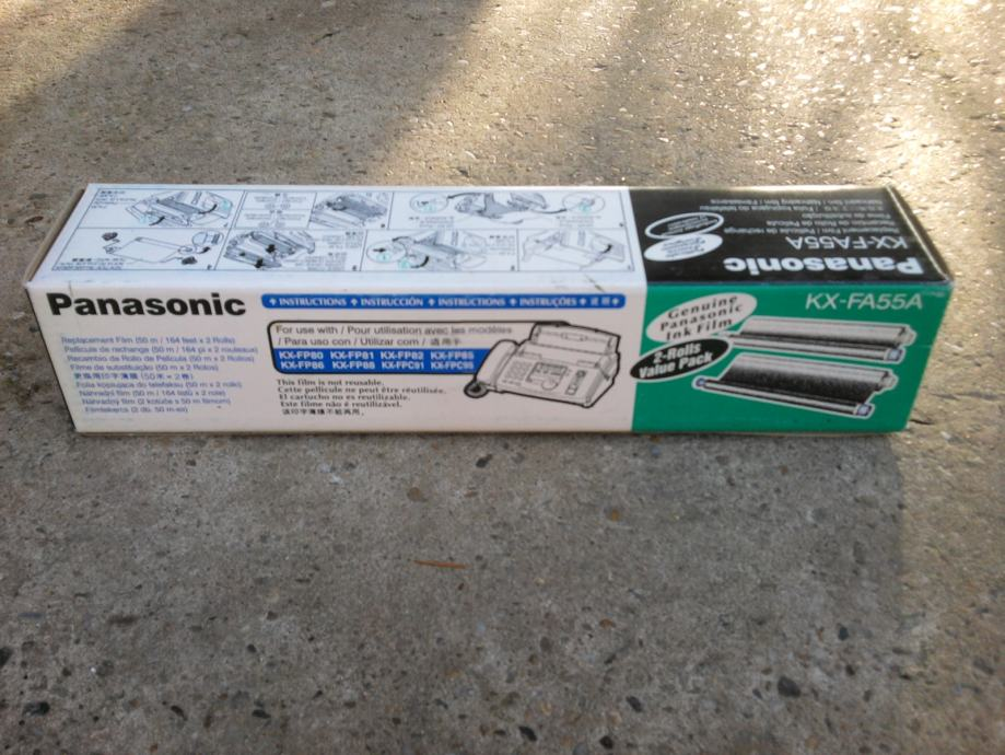 Termo folija Panasonic KX-FA55A, KX-FA55X, KX-FA57/93 (fax film), VŽ