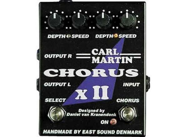 Carl Martin CHORUS XII dula stereo chorus gitarska pedala-SNIŽENO!