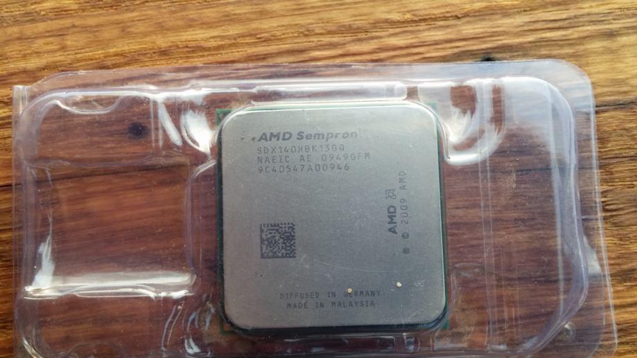 AMD Sempron 140 - Socket AM2+, AM3 / 2.7GHz ______ Sisak - Zagreb