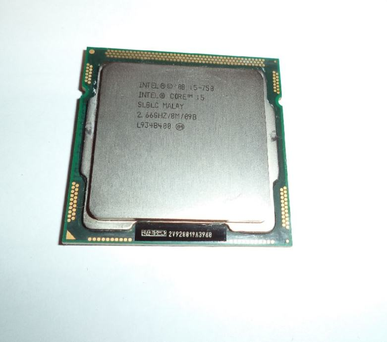 Intel Core i5-750 (4x 2.66GHz - 3.2GHz Turbo 8MB Cache) Socket 1156