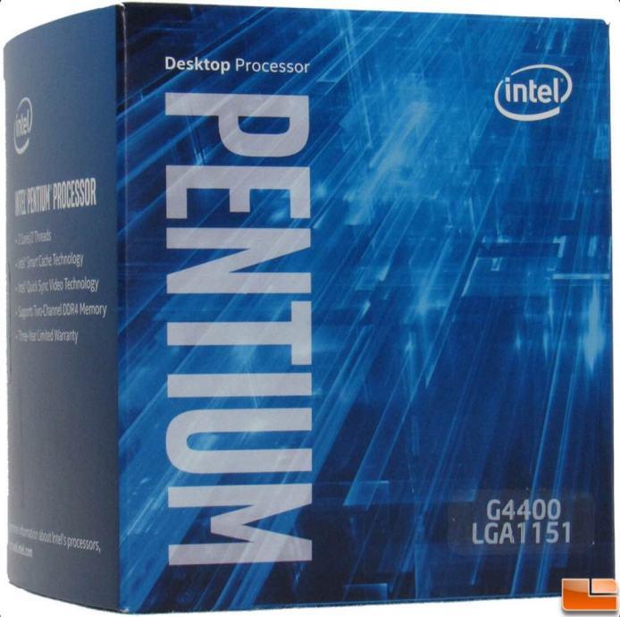 Intel Pentium G4400 3.30GHz Socket 1151. PROCESOR  >> PRILIKA