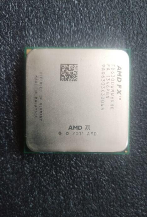 Procesor AMD FX II x6 3.5GHz 6100 + hladnjak