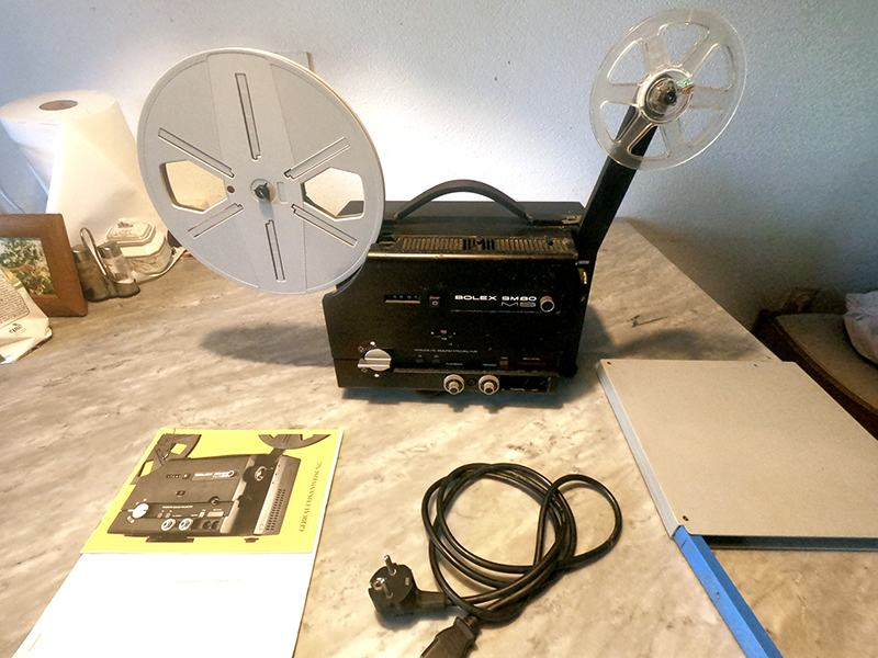 SUPER 8mm BOLEX made in Switzerland