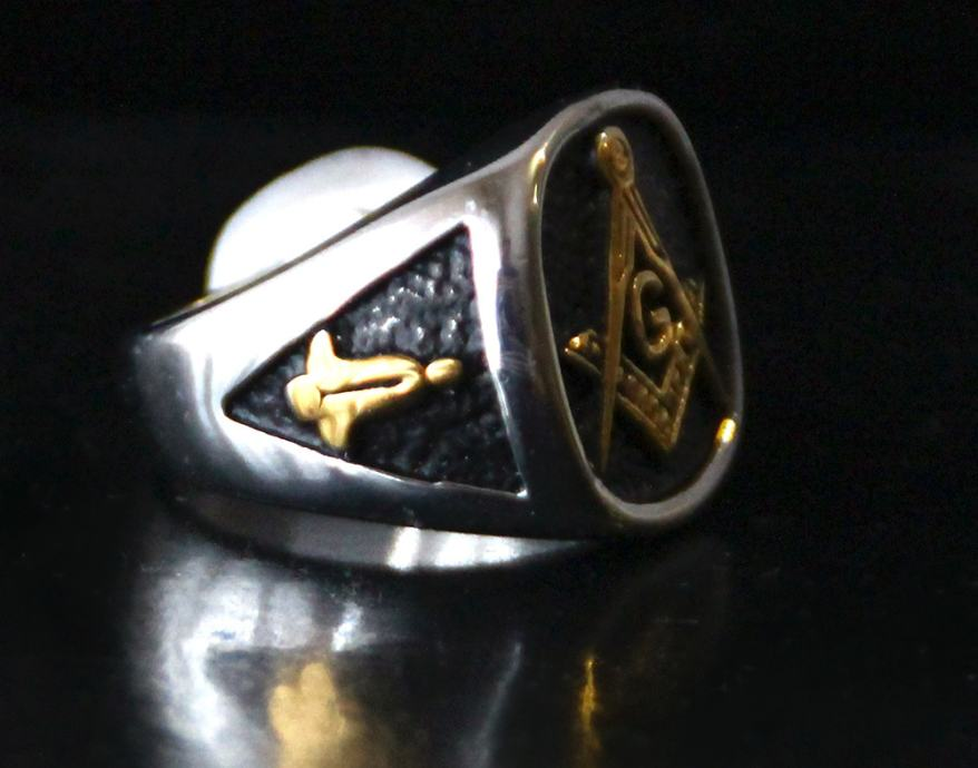 Masonski Masivni Prsten Lodge Of Perfection Royal Arch 13