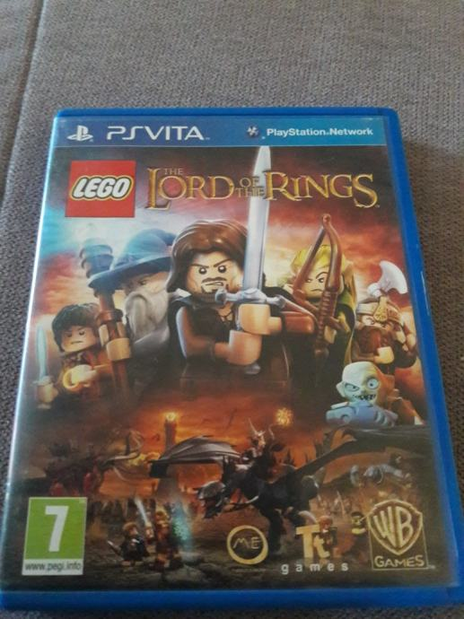 ps vita psvita LEGO LORD OF RINGS