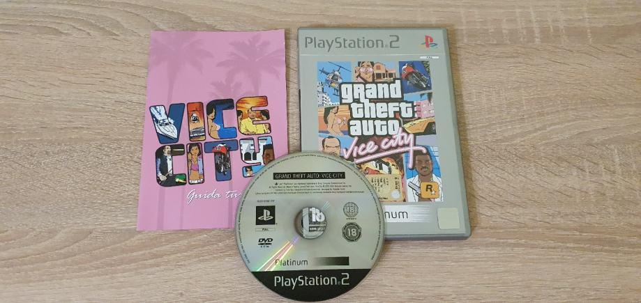 Grand Theft Auto: Vice City - PS2