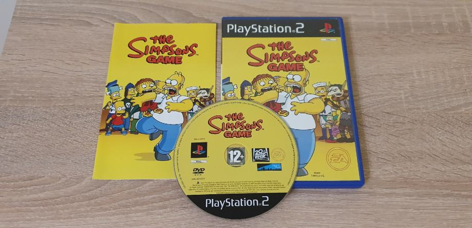 The Simpsons game - PS2