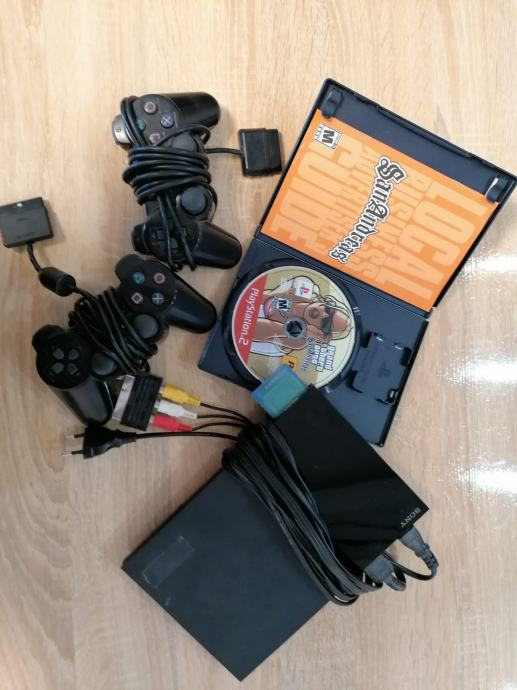 PS 2 + 2 joystick+ GTA SanAndreas