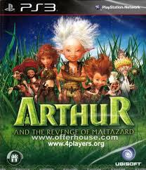 ARTHUR AND THE REVENAGE OF MALTAZARD PS3