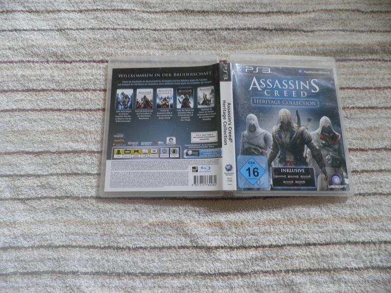assassins creed heritage collection ps3