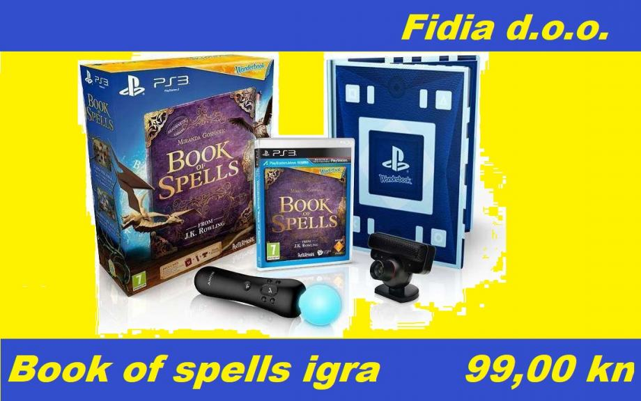 Book of Spells igra + knjiga