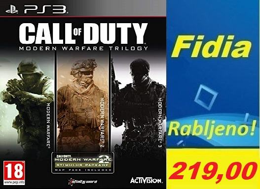 Call of Duty: Modern Warfare Trilogy [3 Discs] PS3