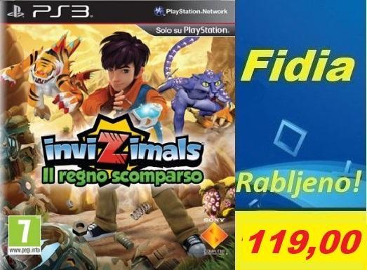 INVIZIMALS PS3