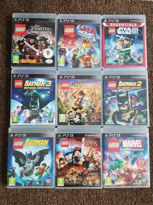 Lego kolekcija igara