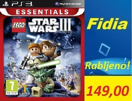 LEGO STAR WARS 3 PS3