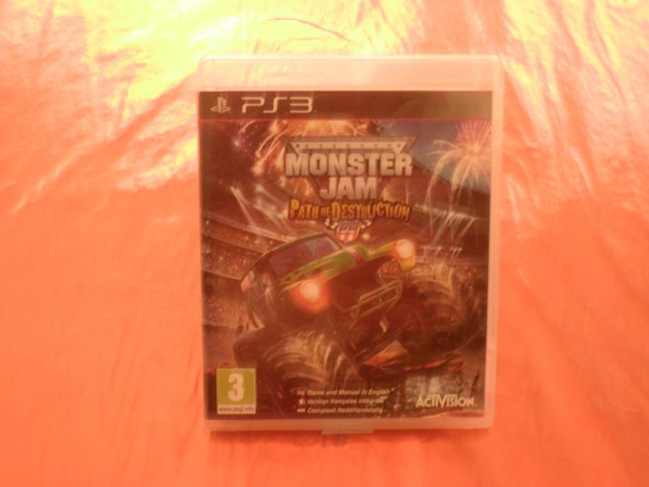 monster jam ps3
