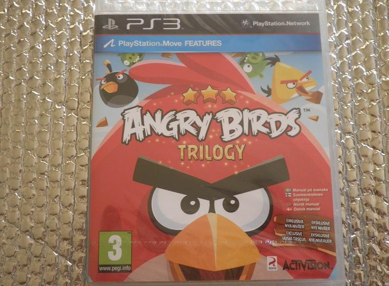 ps3 angry birds trilogy ps3 NOVO...NOVO
