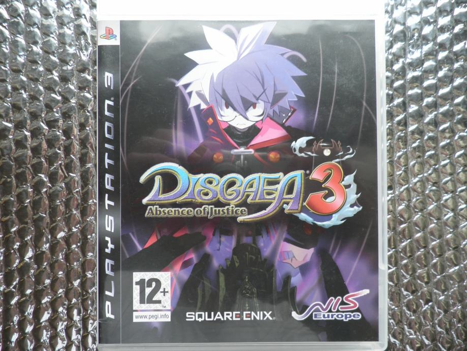 ps3 disgaea 3 absence of justice ps3