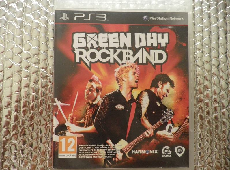ps3 green day rock band ps3