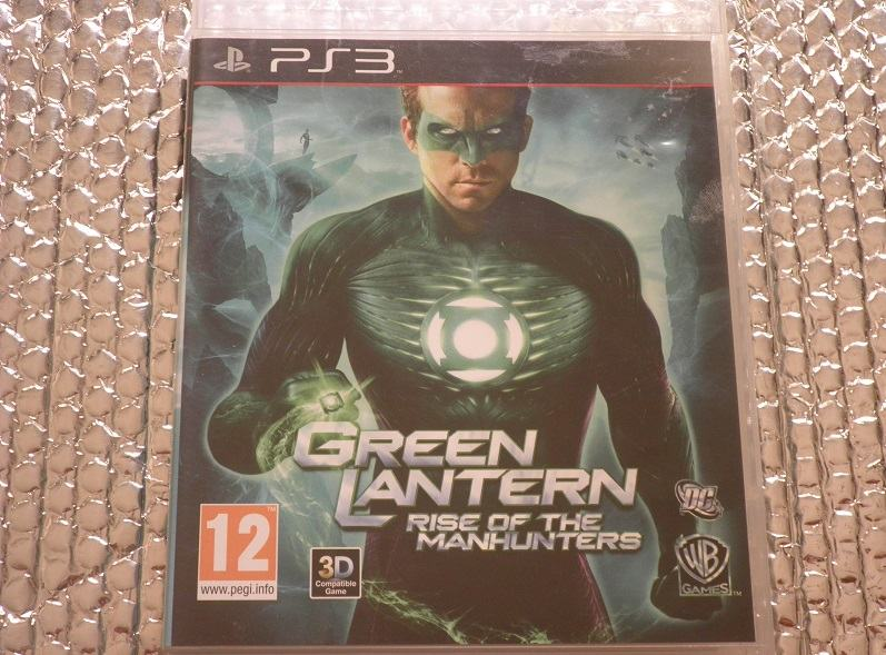 ps3 green lantern rise of the manhunters ps3