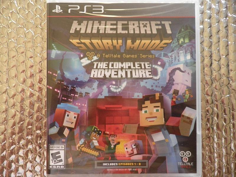 ps3 minecraft story mode the complete adventure ps3 NOVO...NOVO
