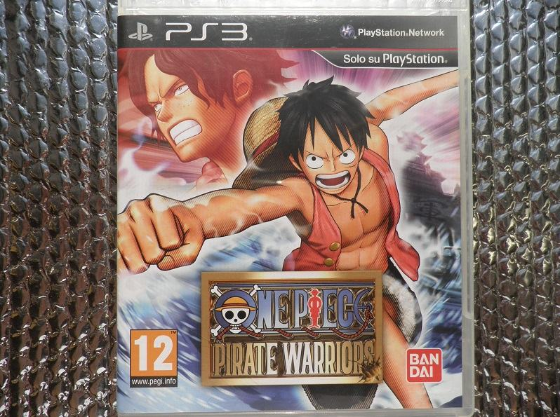 ps3 one piece pirate warriors ps3