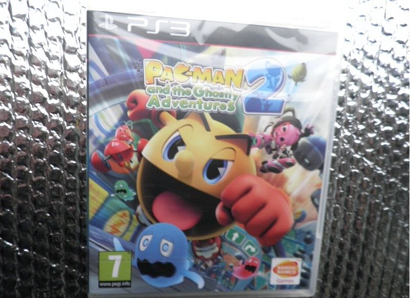 ps3 pacman and the ghostly adventures 2 ps3 NOVO...NOVO