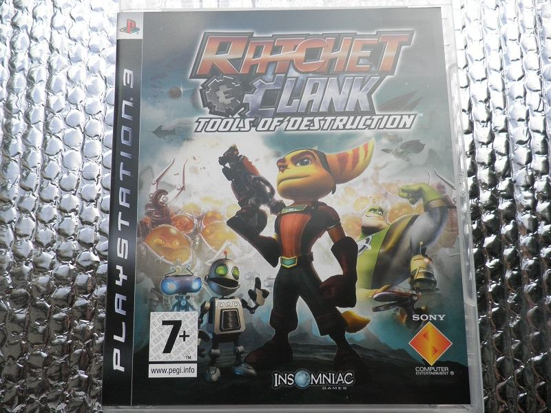 ps3 Ratchet and Clank Future Tools of Destruction ps3