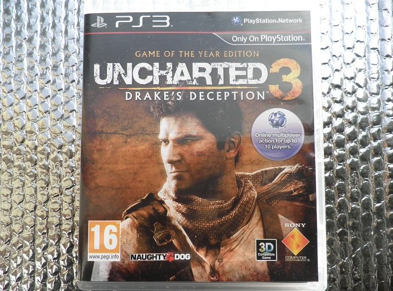 ps3 uncharted goty ps3