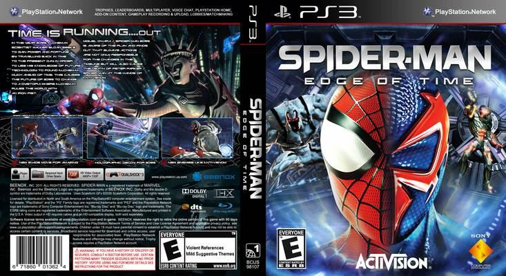 Spiderman: Edge of Time - PS3